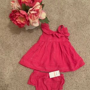 NWT 💕 Sweet Heart Rose Pink 2PC - 12 Months
